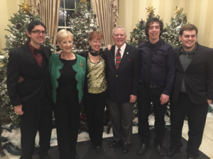 Gwen-Hughes_Christmas with Gov. Deal and First Lady Sandra Deal